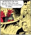 Cartoonist John Deering  Strange Brew 2017-02-15 election