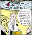 Comic Strip John Deering  Strange Brew 2017-02-22 traveler