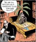 Cartoonist John Deering  Strange Brew 2017-02-28 castaway