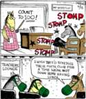 Comic Strip John Deering  Strange Brew 2017-04-13 math