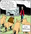 Cartoonist John Deering  Strange Brew 2017-05-01 lion