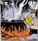 Comic Strip John Deering  Strange Brew 2017-05-04 cannibalism