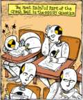 Cartoonist John Deering  Strange Brew 2017-05-26 crash