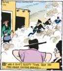 Cartoonist John Deering  Strange Brew 2017-05-30 sleepy