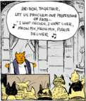Cartoonist John Deering  Strange Brew 2017-07-03 cat food