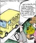 Cartoonist John Deering  Strange Brew 2017-08-07 flower
