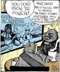 Cartoonist John Deering  Strange Brew 2017-08-30 you