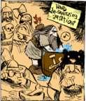 Cartoonist John Deering  Strange Brew 2017-10-02 comic strip