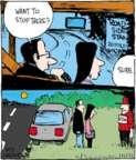 Cartoonist John Deering  Strange Brew 2017-10-03 comic strip