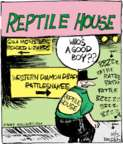 Cartoonist John Deering  Strange Brew 2017-10-05 comic strip