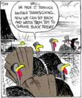 Cartoonist John Deering  Strange Brew 2017-11-24 holiday shopping