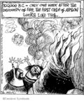 Cartoonist John Deering  Strange Brew 2007-09-06 000