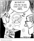 Comic Strip John Deering  Strange Brew 2007-09-19 ice cream
