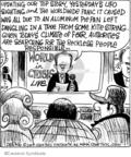Cartoonist John Deering  Strange Brew 2007-10-19 climate