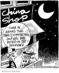 Cartoonist John Deering  Strange Brew 2007-11-07 China