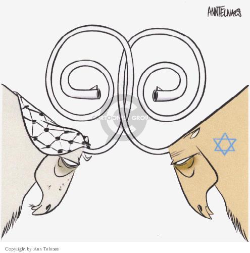 Ann Telnaes  Ann Telnaes' Editorial Cartoons 2002-03-11 Israel