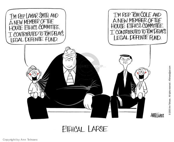 Cartoonist Ann Telnaes  Ann Telnaes' Editorial Cartoons 2005-03-02 majority