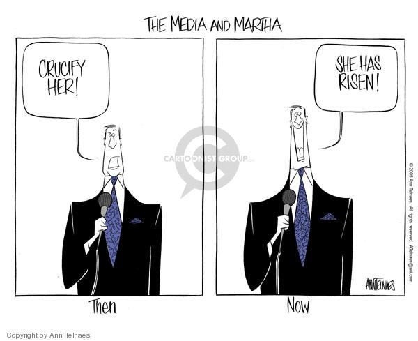 Cartoonist Ann Telnaes  Ann Telnaes' Editorial Cartoons 2005-03-04 perception
