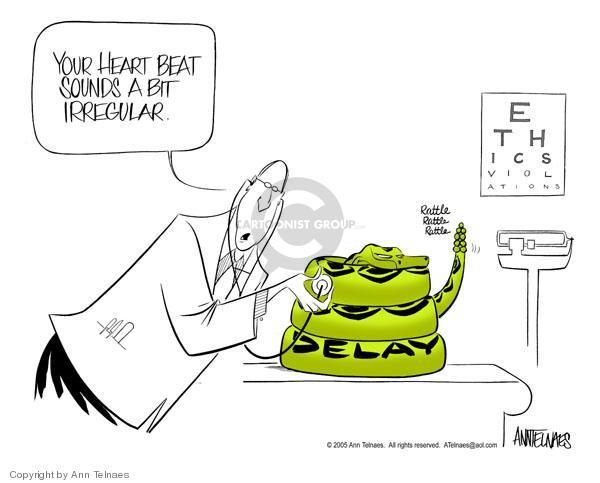 Ann Telnaes  Ann Telnaes' Editorial Cartoons 2005-03-12 corruption