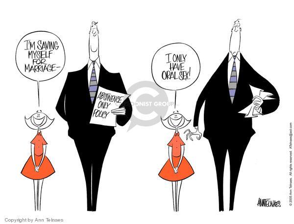 Ann Telnaes  Ann Telnaes' Editorial Cartoons 2005-04-09 freedom