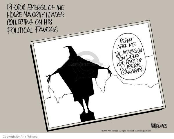 Ann Telnaes  Ann Telnaes' Editorial Cartoons 2005-04-12 corruption