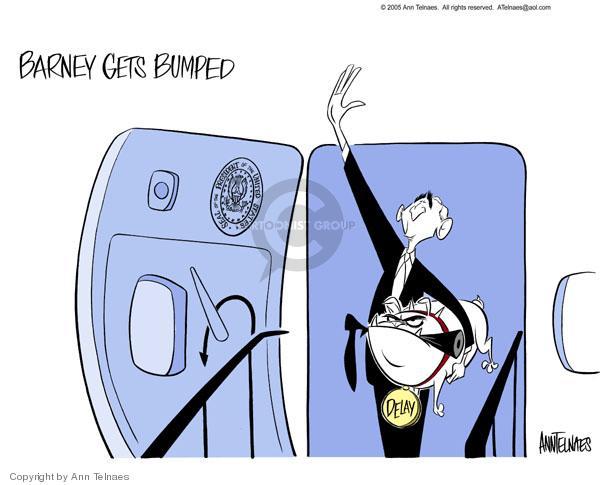 Cartoonist Ann Telnaes  Ann Telnaes' Editorial Cartoons 2005-04-27 trip