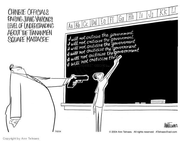 Ann Telnaes  Ann Telnaes' Editorial Cartoons 2004-07-06 doctor