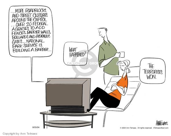 Ann Telnaes  Ann Telnaes' Editorial Cartoons 2004-08-05 around