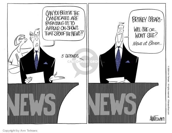 Ann Telnaes  Ann Telnaes' Editorial Cartoons 2004-08-26 station