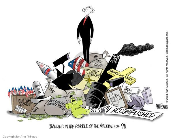 Ann Telnaes  Ann Telnaes' Editorial Cartoons 2004-08-31 federal budget