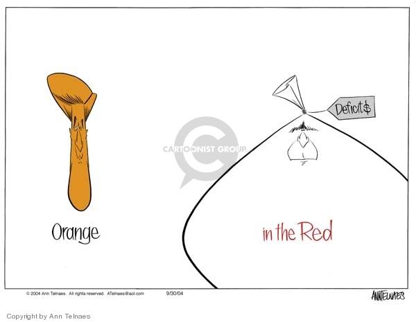 Ann Telnaes  Ann Telnaes' Editorial Cartoons 2004-09-30 national debt