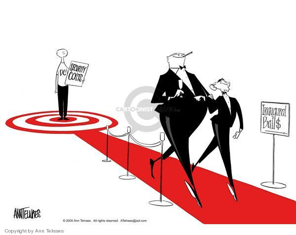 Ann Telnaes  Ann Telnaes' Editorial Cartoons 2005-01-11 affluence