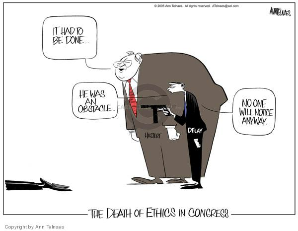 Ann Telnaes  Ann Telnaes' Editorial Cartoons 2005-02-03 expense