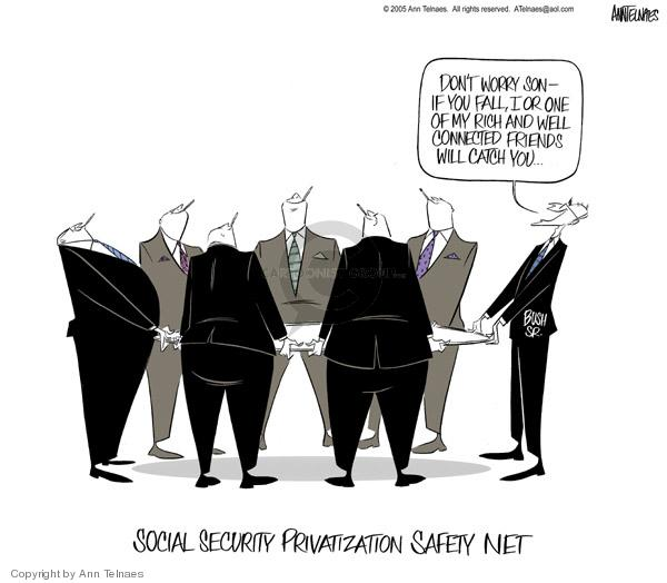Ann Telnaes  Ann Telnaes' Editorial Cartoons 2005-02-07 economic