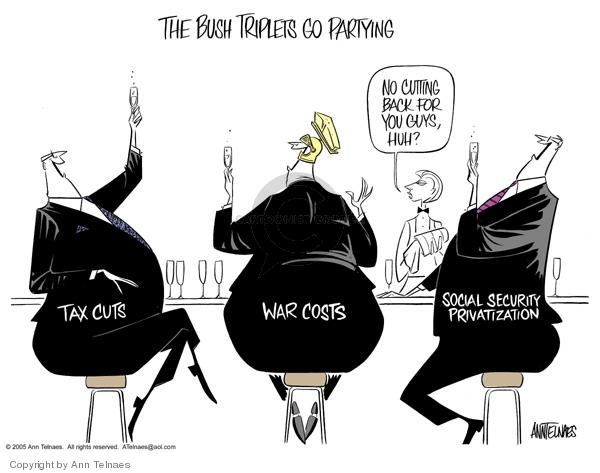 Ann Telnaes  Ann Telnaes' Editorial Cartoons 2005-02-09 national debt