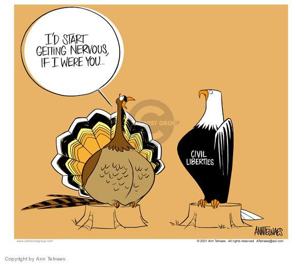 Ann Telnaes  Ann Telnaes' Editorial Cartoons 2001-11-16 Thanksgiving