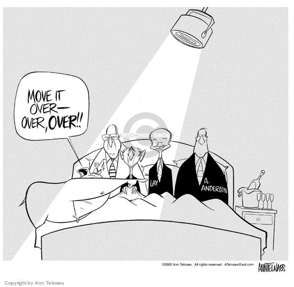 Ann Telnaes  Ann Telnaes' Editorial Cartoons 2002-01-18 George W. Bush