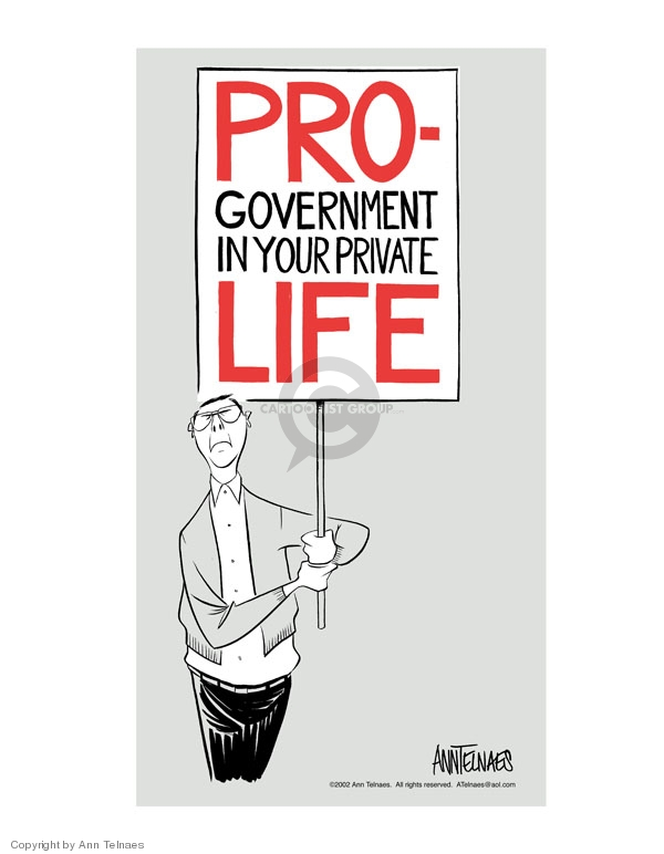 Ann Telnaes  Ann Telnaes' Editorial Cartoons 2002-01-22 government