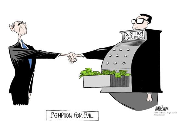 Ann Telnaes  Ann Telnaes' Editorial Cartoons 2002-02-21 export