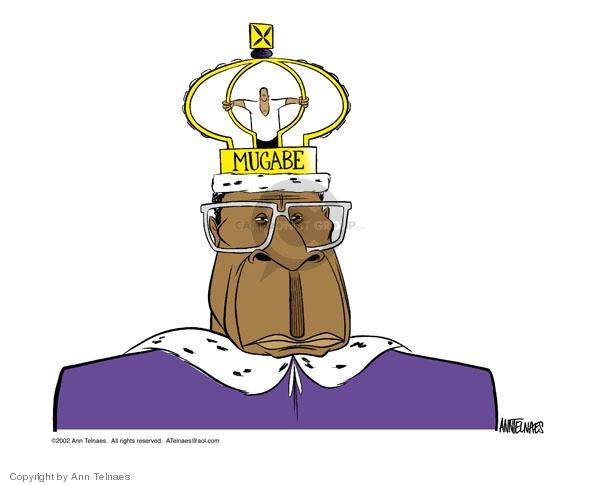 Cartoonist Ann Telnaes  Ann Telnaes' Editorial Cartoons 2002-02-27 rule