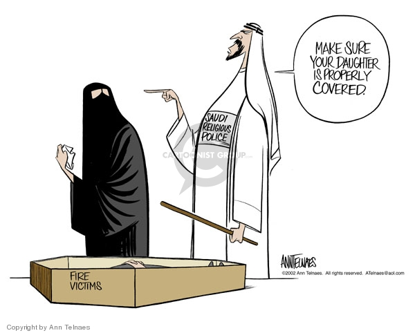 Cartoonist Ann Telnaes  Ann Telnaes' Editorial Cartoons 2002-03-21 holy