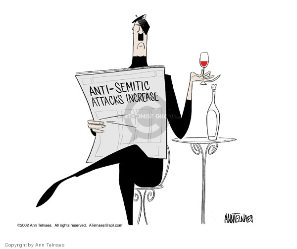 Cartoonist Ann Telnaes  Ann Telnaes' Editorial Cartoons 2002-04-17 Marie
