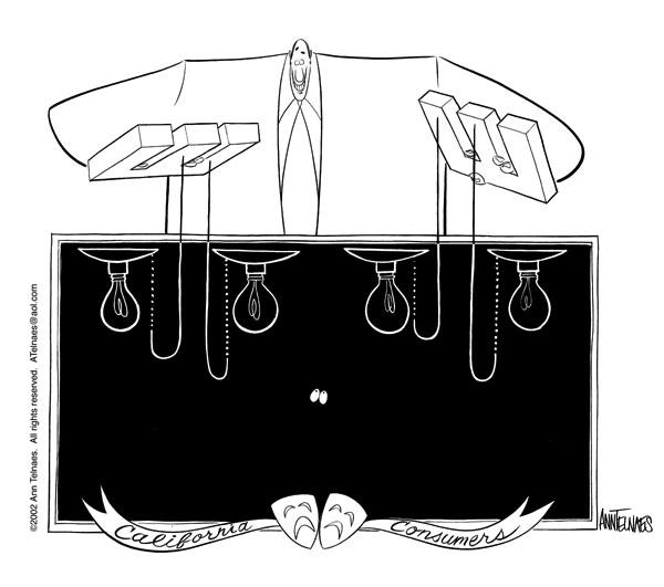Ann Telnaes  Ann Telnaes' Editorial Cartoons 2002-05-08 California