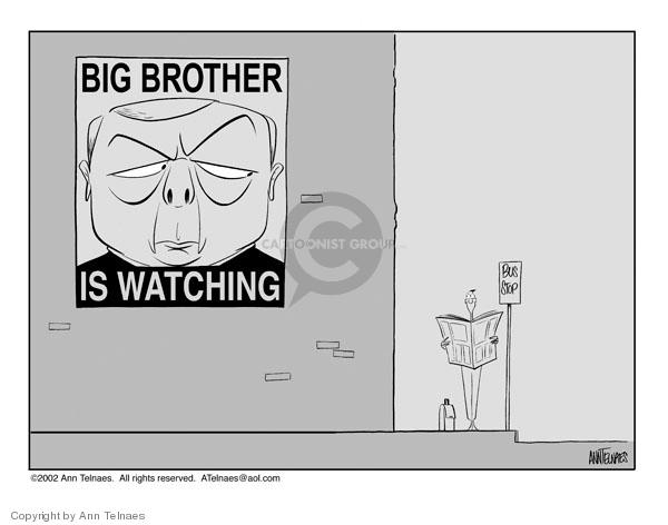 Ann Telnaes  Ann Telnaes' Editorial Cartoons 2002-05-31 brother