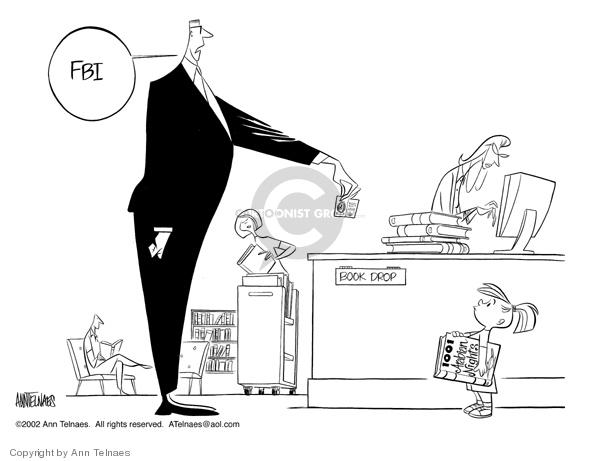 Ann Telnaes  Ann Telnaes' Editorial Cartoons 2002-06-25 defense