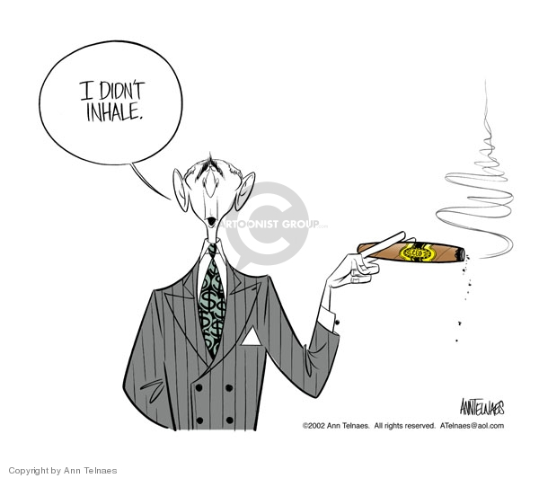 Ann Telnaes  Ann Telnaes' Editorial Cartoons 2002-07-11 dollar