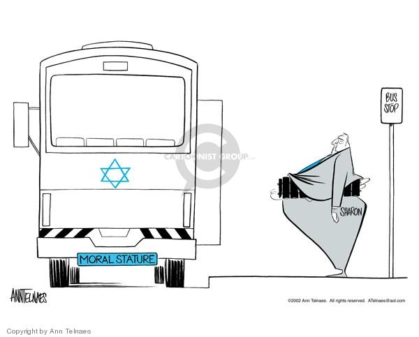 Ann Telnaes  Ann Telnaes' Editorial Cartoons 2002-07-24 Israel