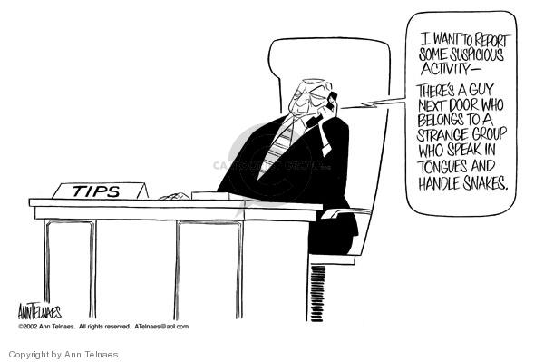 Ann Telnaes  Ann Telnaes' Editorial Cartoons 2002-07-26 door