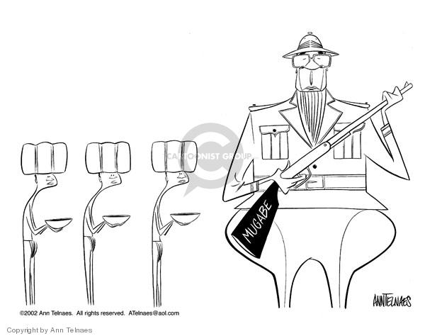 Ann Telnaes  Ann Telnaes' Editorial Cartoons 2002-08-16 dictator