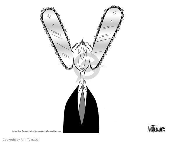 Ann Telnaes  Ann Telnaes' Editorial Cartoons 2002-08-22 forest fire